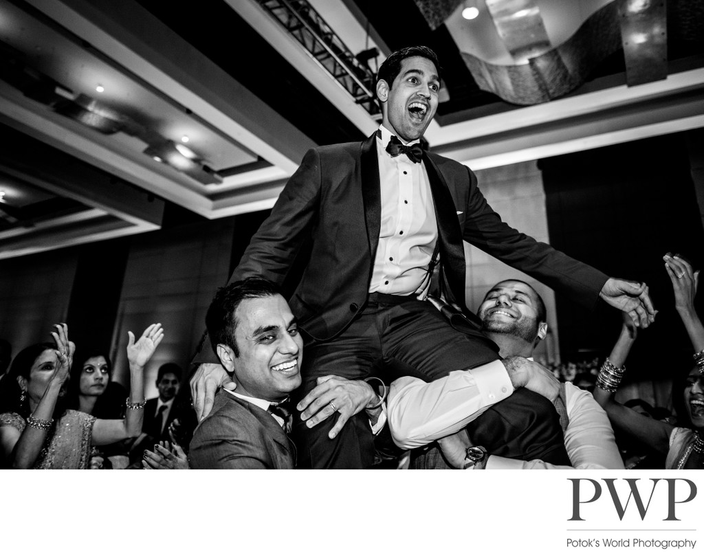 Indian Wedding Reception by Baltimore Photographers
