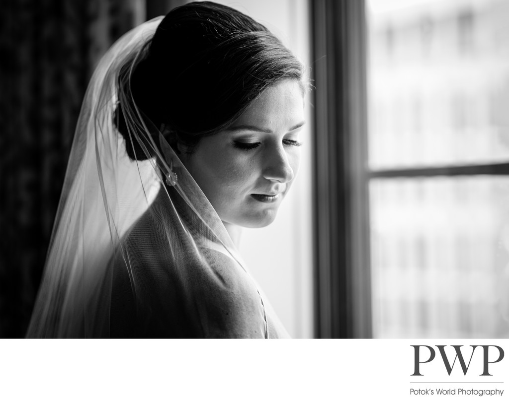 St Regis DC Wedding Photographers Bridal Portrait