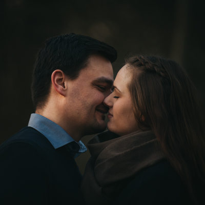 Engagement Session at the Altwarmbüchener See, Hannover