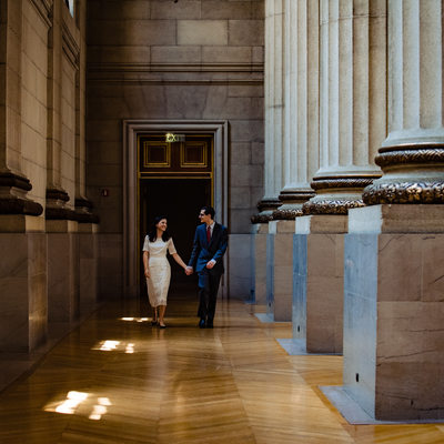 Mellon Auditorium Wedding and Engagement Photos