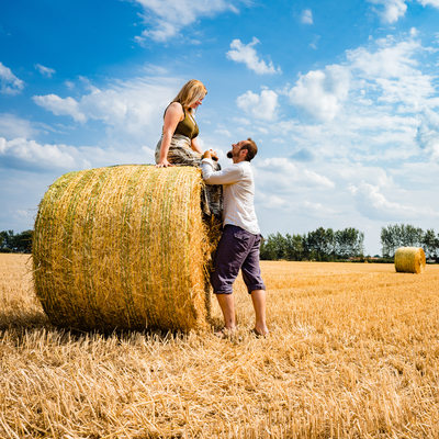 Destination Farm Engagement Photos