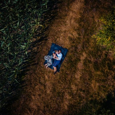 Drone Engagement Photos