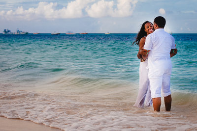 Engagement Photos at the Beach in Punta Cana