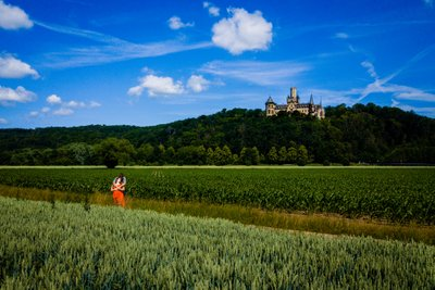 Marienburg Castle Engagement Photos Germany