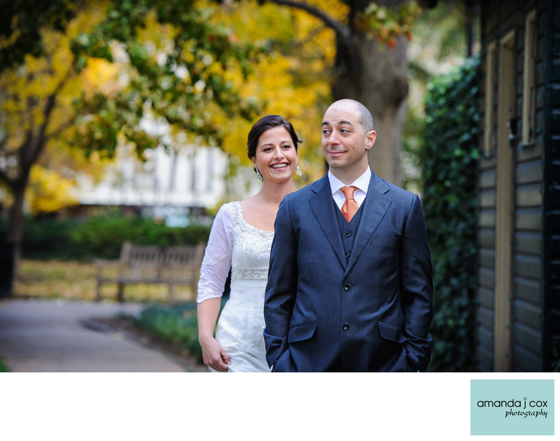 Rittenhouse Square Bridal Portraits