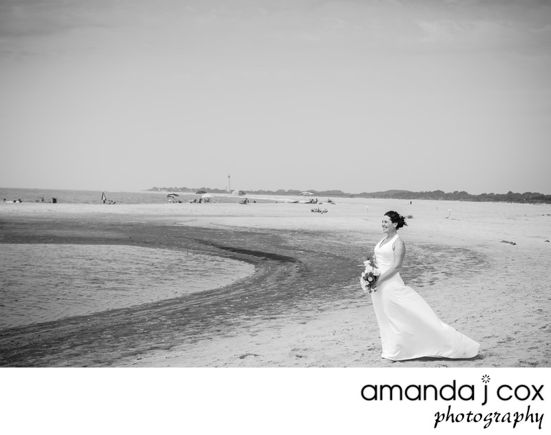 Cape May Beach Bride Photos