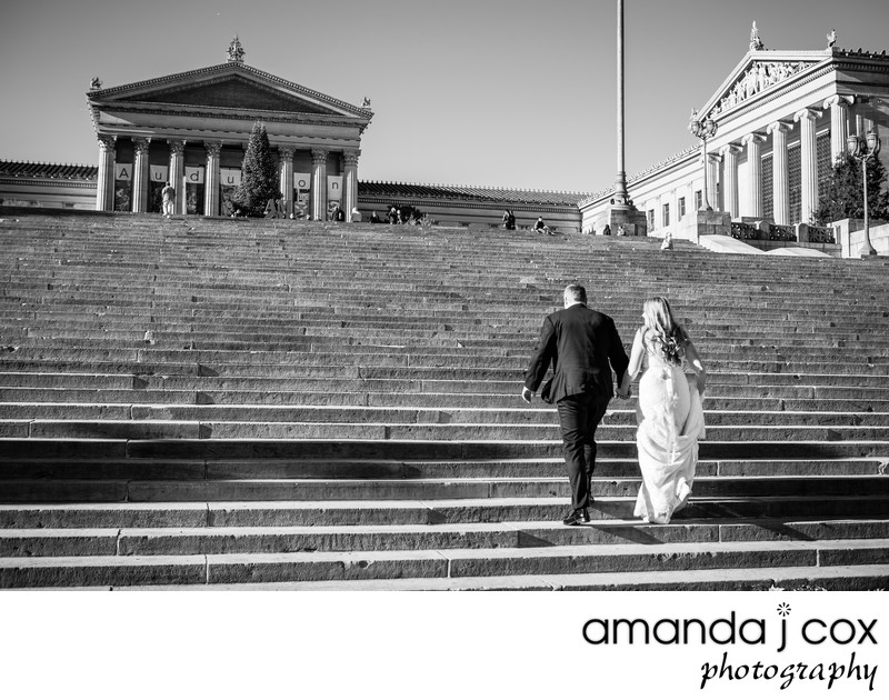 Philadelphia Art Museum Wedding Photographer