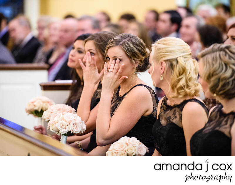 Old St. Josephs Catholic Church Wedding Photographer