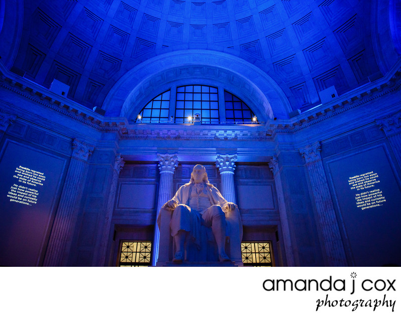 Stunning Franklin Institute Wedding Venue Photographer