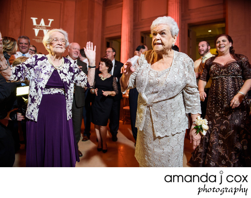 Franklin Institute Wedding Reception Photographer