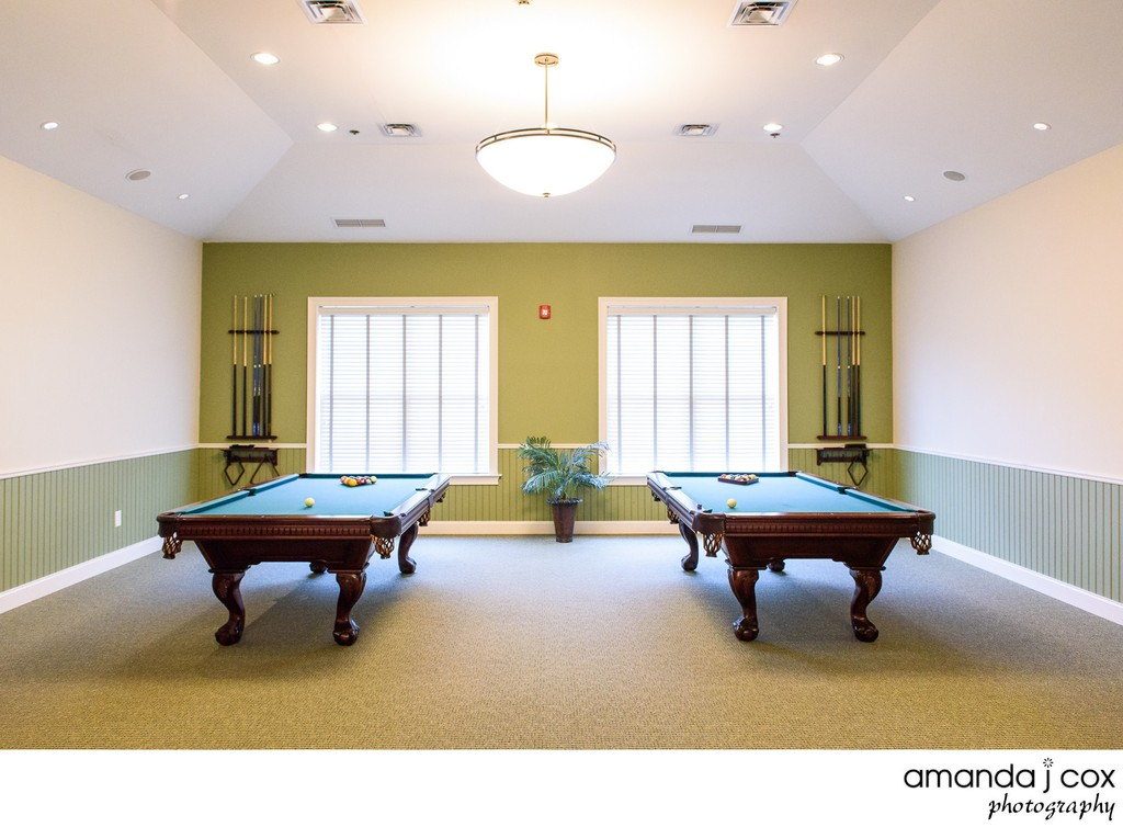 Apartment Complex Billiards Room