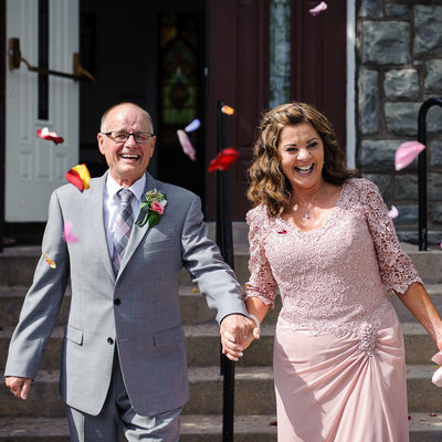 Mature Couple Wedding Photos