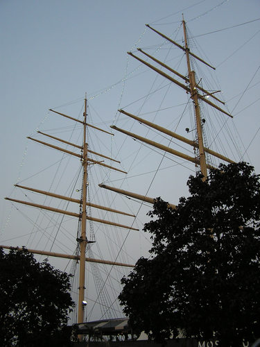 Moshulu Masts at Penns Landing