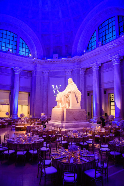 Franklin Institute Wedding Photography