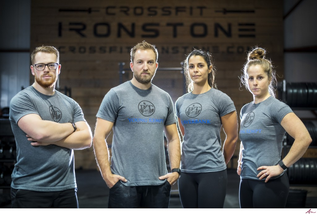CrossFit specialist team from Young Kempt Physiotherapy