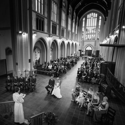 Halifax Wedding Ceremony at All Saints Cathedral