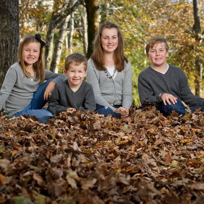 Bedford family fall photo session