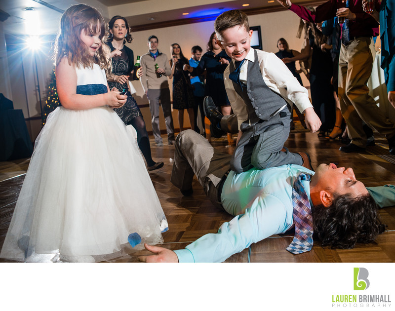 Crazy Kids at Weddings