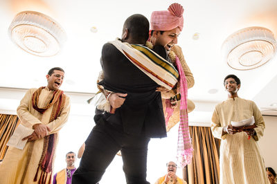 Hindu Wedding Hug