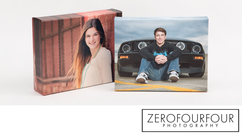 Portrait Canvas Wraps for high school senior graduates