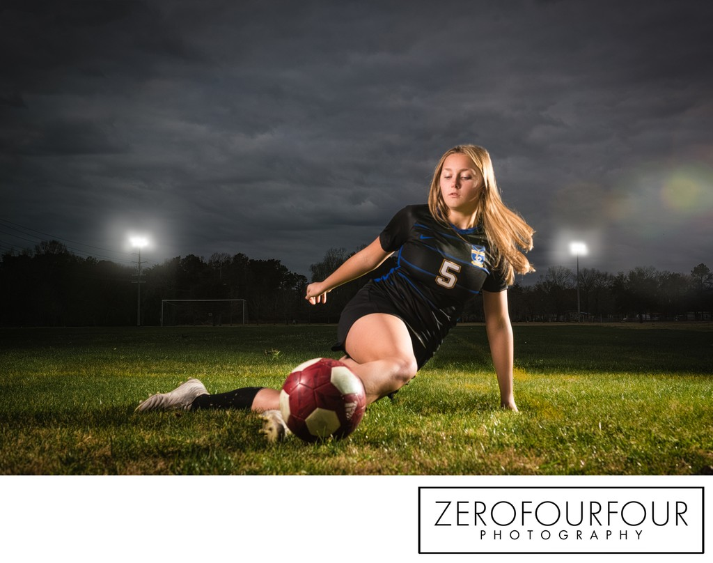 Editorial Style Soccer Photo Shoot
