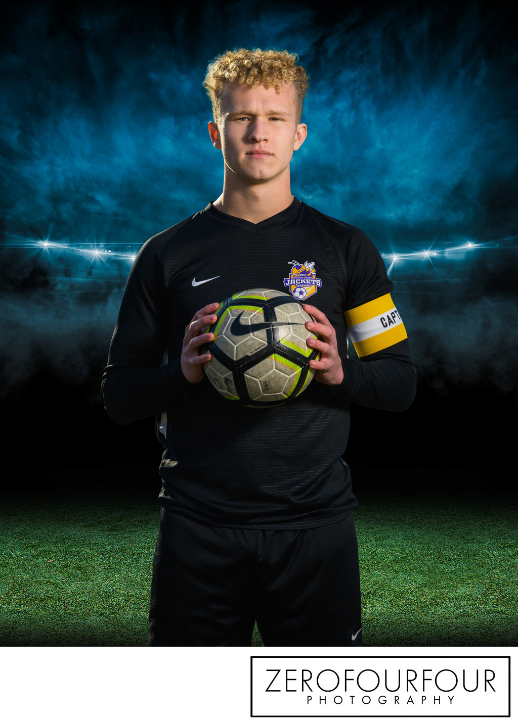 Denham Springs High Soccer Captain