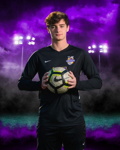 Sports team portrait for Denham Springs Soccer Team