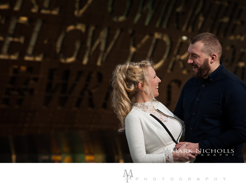 Engagement & Wedding Photography Cardiff Millennium Centre, South Wales