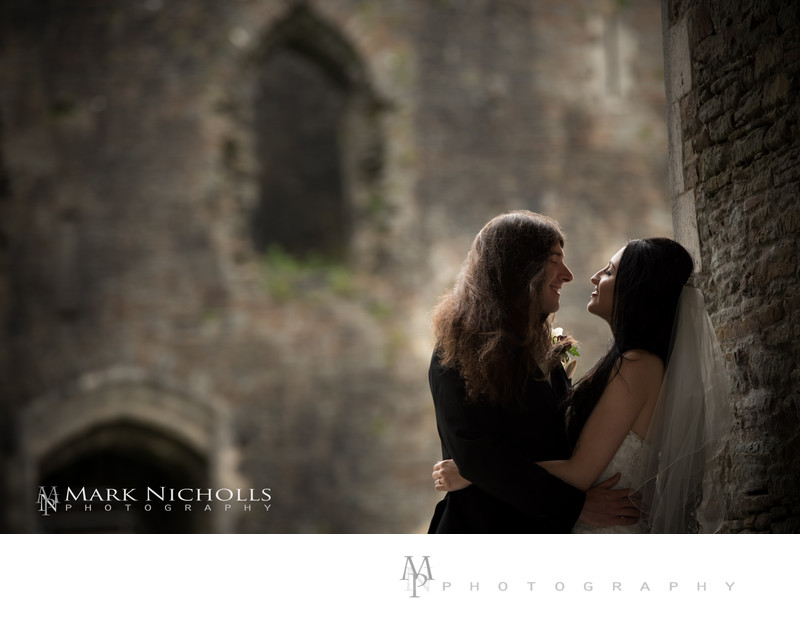 Weddings at Caerphilly Castle, South Wales