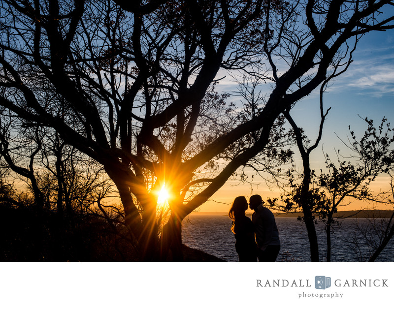 Newport RI engagement photographer