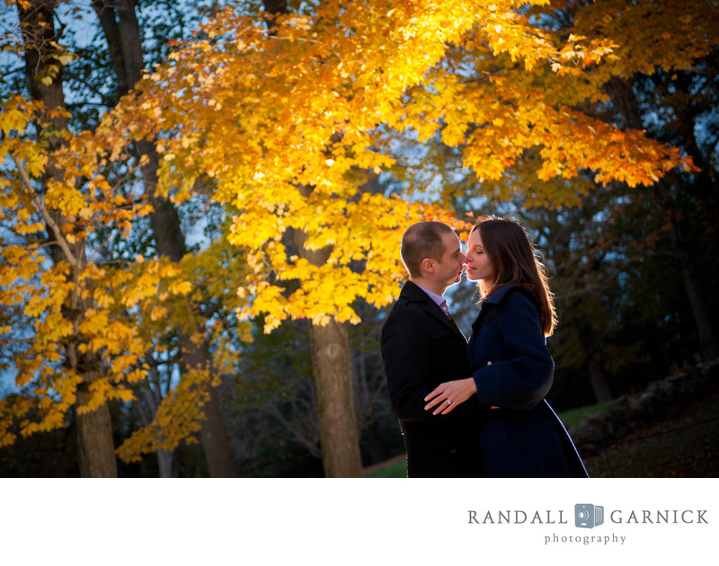 best-fall-in-new-england-engagement-photographer