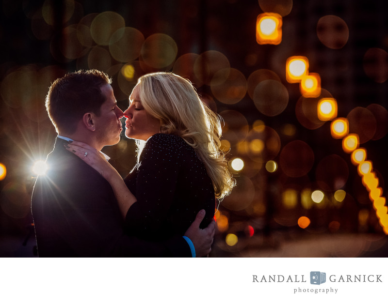 Romantic Boston engagement photos