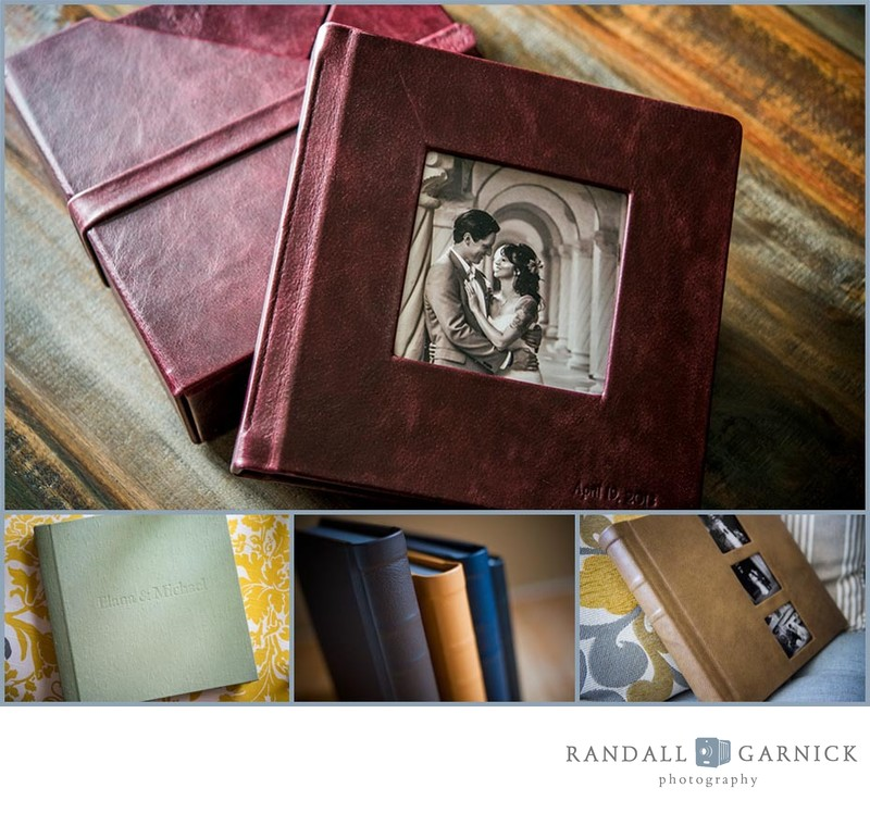 Heirloom albums by Randall Garnick Photography