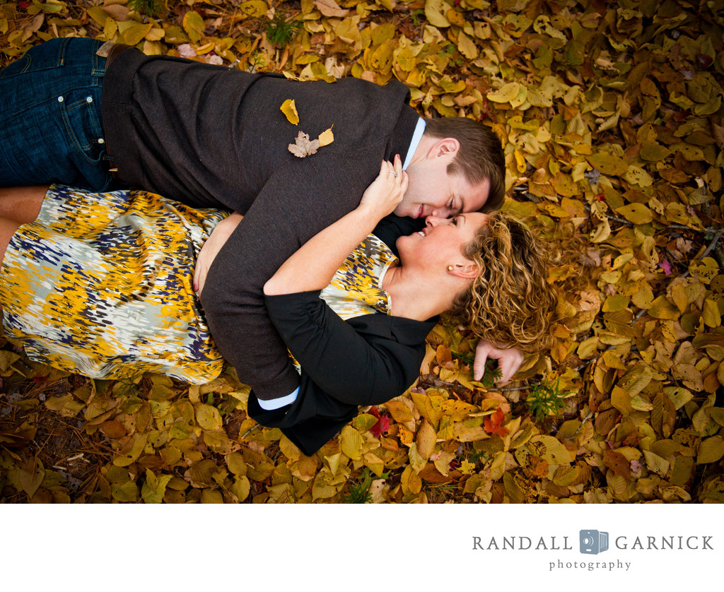 New England Fall engagement photos