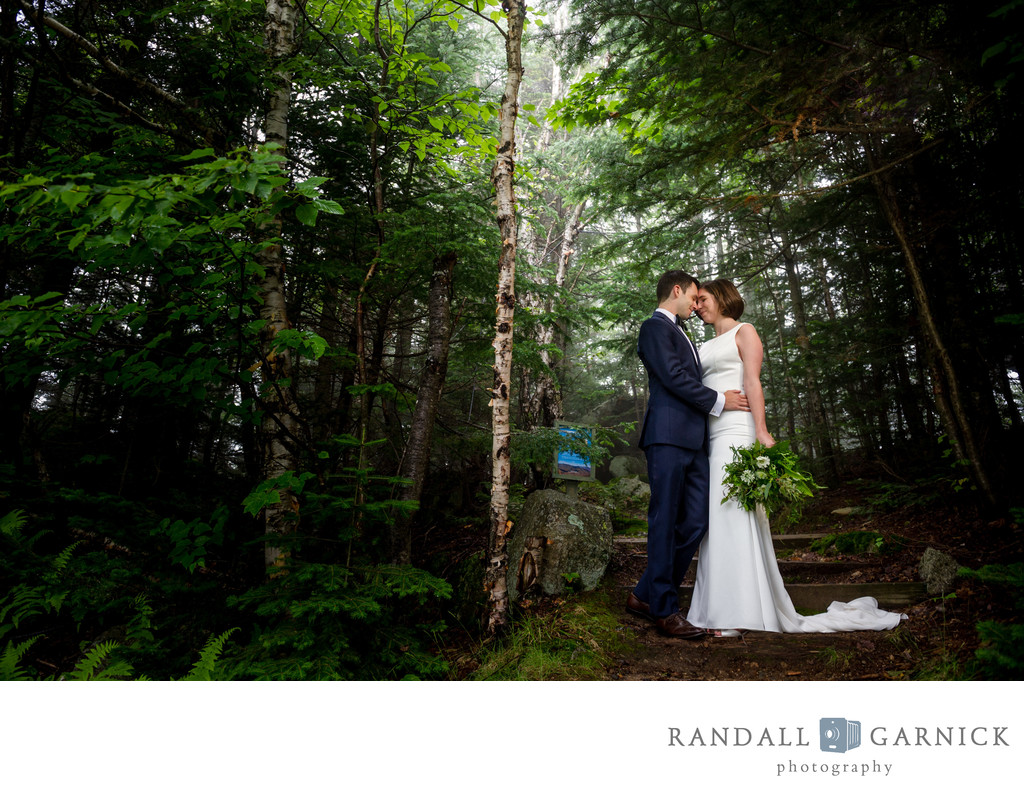 Loon Mountain wedding photos