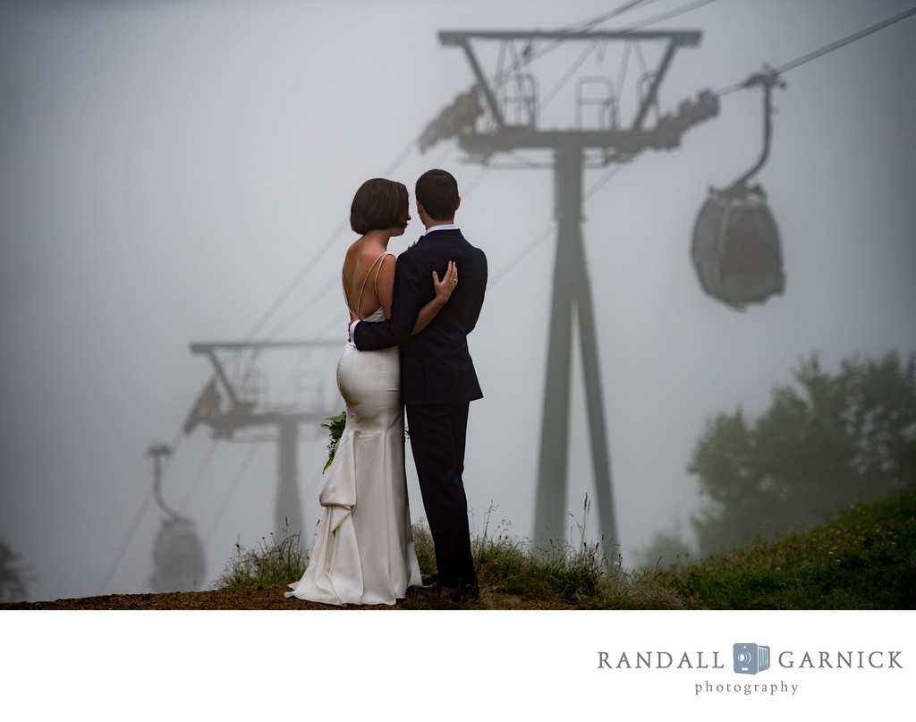 best Loon Mountain wedding photography