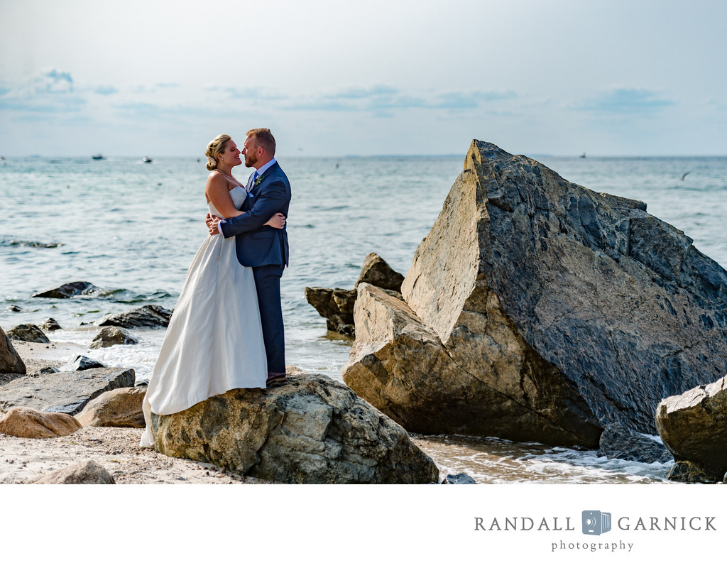 Cape Cod beach wedding photos