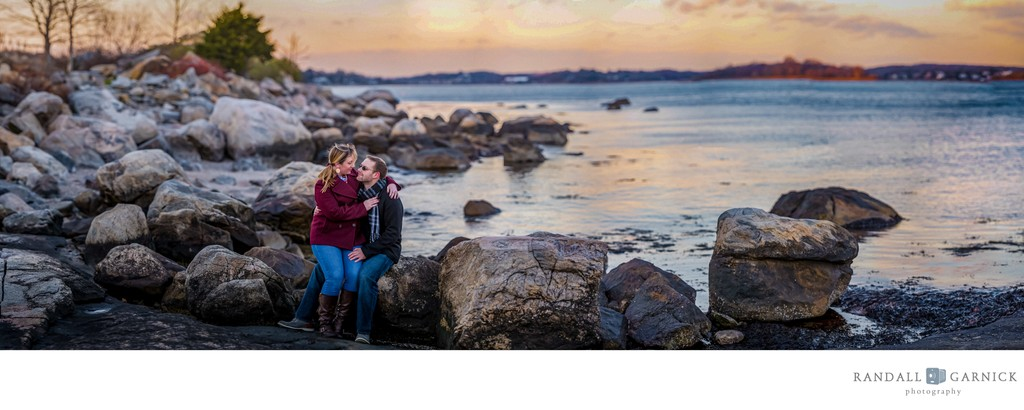Enders Island engagement session