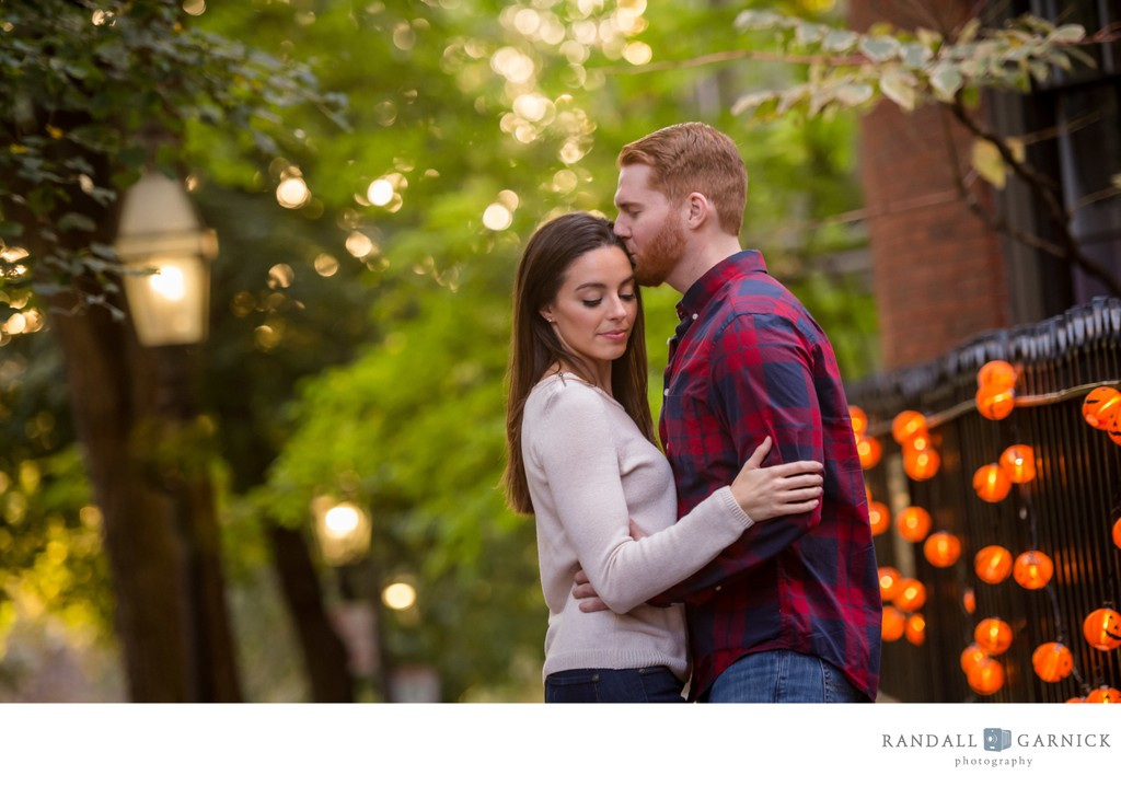 Boston Back Bay engagement photos
