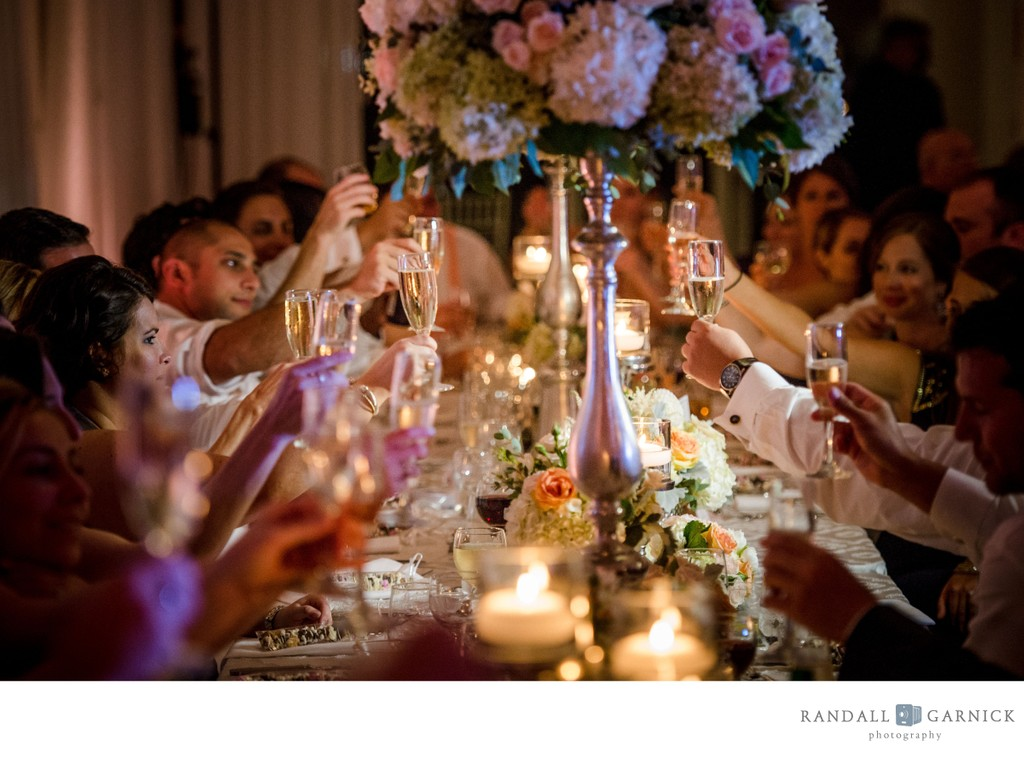 Belle Mer wedding reception photos