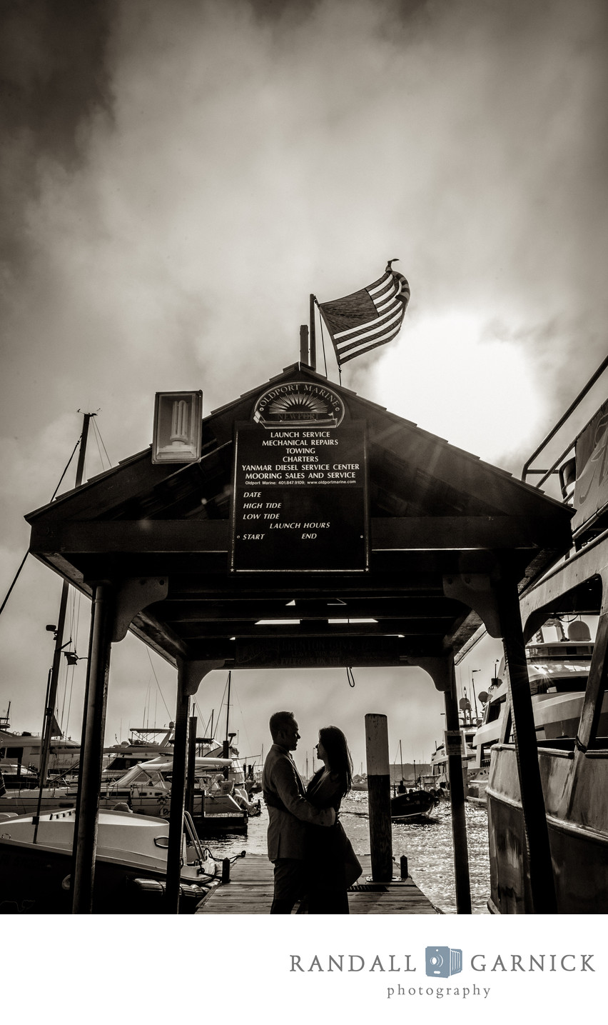 top Newport RI engagement photography