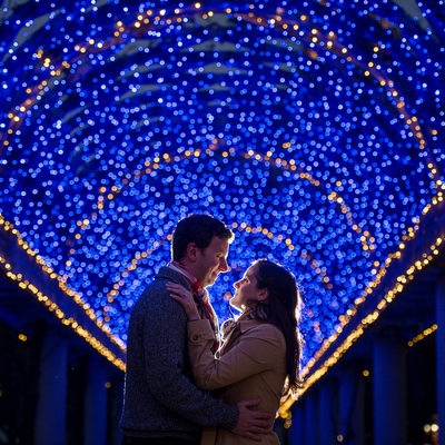 Christopher Columbus Park engagment shoot
