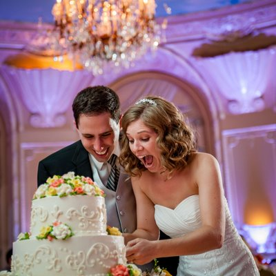 Fairmont Copley Plaza Jewish wedding photos