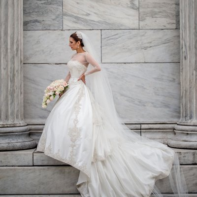 artistic wedding photography Roger Williams Park
