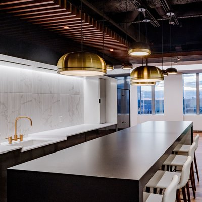 Custom office kitchen space in Boston