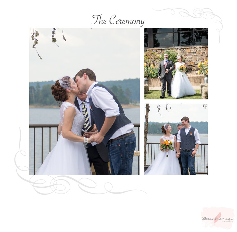 Degray Lake Wedding Ceremony Album
