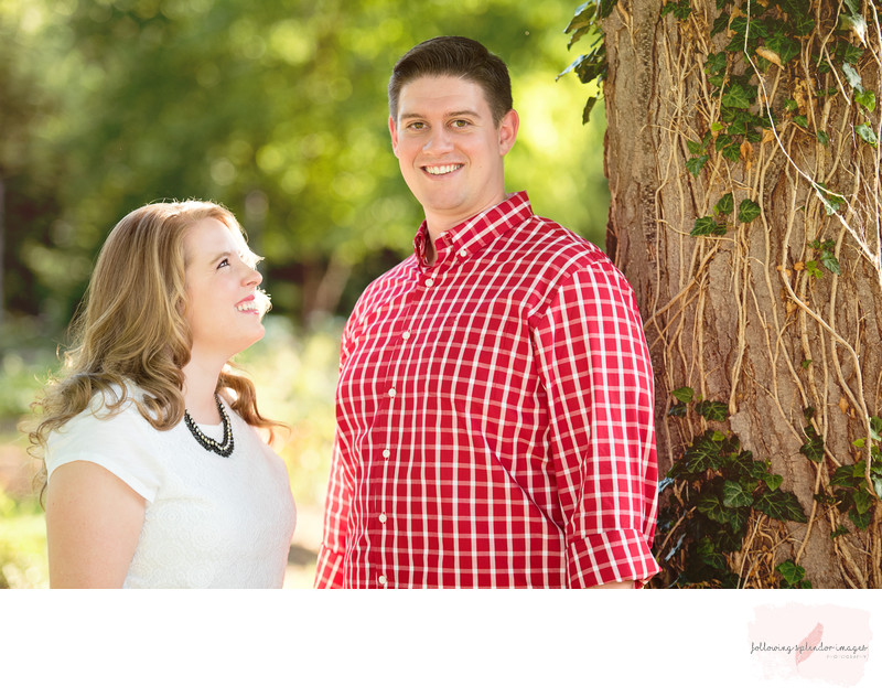 No Touch Engagement Photographer Little Rock, Arkansas