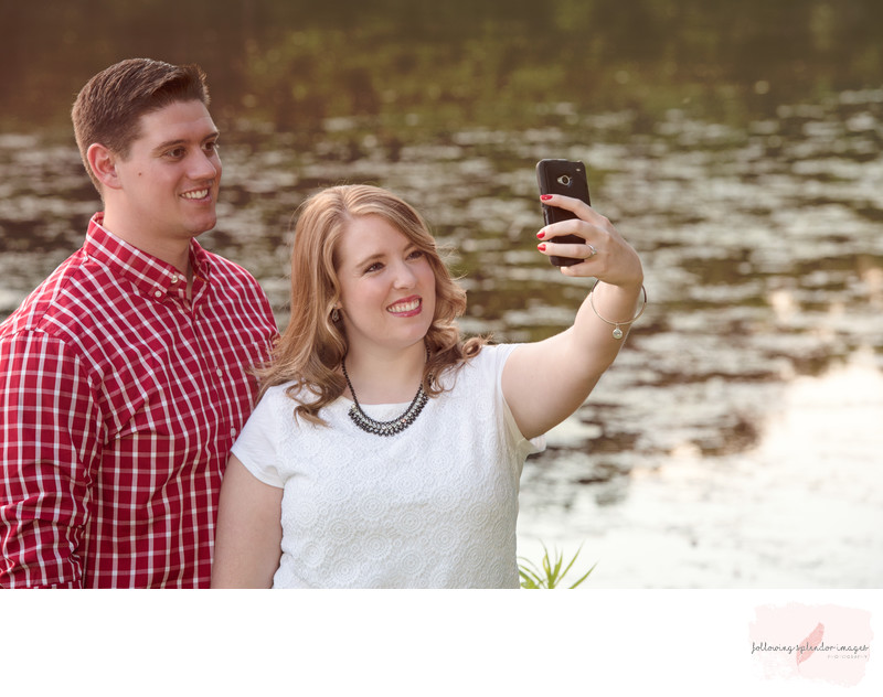 Selfie Engagement Photo