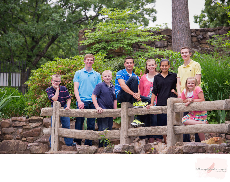 Family Photography at the Old Mill North Little Rock