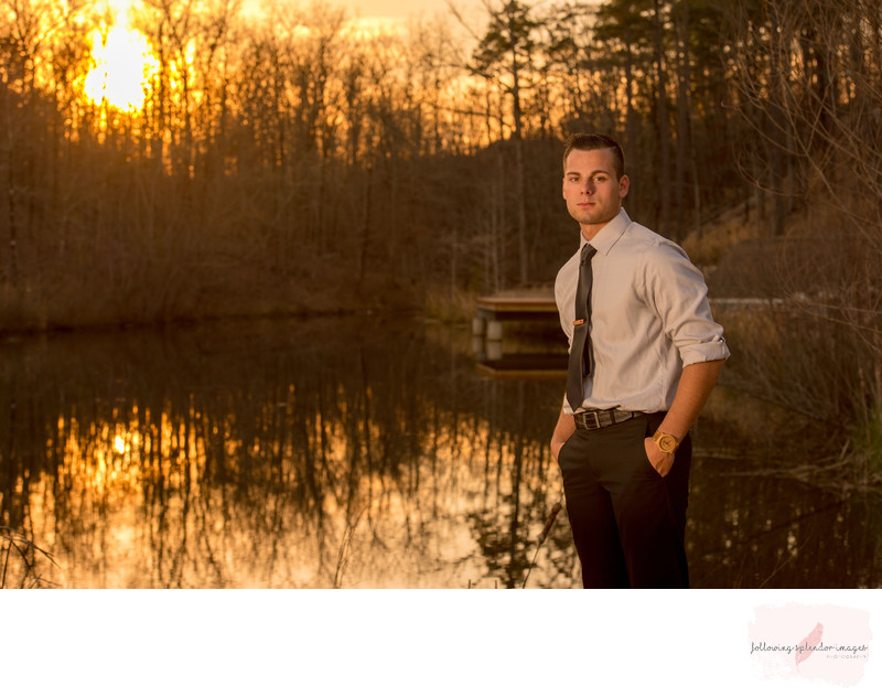 Golden Hour Senior Photography